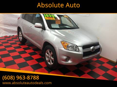 2010 Toyota RAV4 for sale at Absolute Auto in Baraboo WI