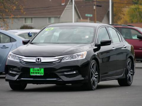 2016 Honda Accord for sale at CLINT NEWELL USED CARS in Roseburg OR