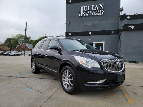 2016 Buick Enclave for sale at Julian Auto Sales, Inc. in Warren MI