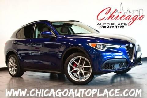 2018 Alfa Romeo Stelvio for sale at Chicago Auto Place in Bensenville IL