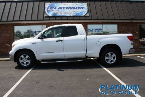 2007 Toyota Tundra for sale at Platinum Auto World in Fredericksburg VA
