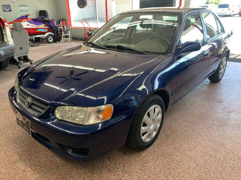 2001 Toyota Corolla for sale at PETE'S AUTO SALES LLC - Dayton in Dayton OH
