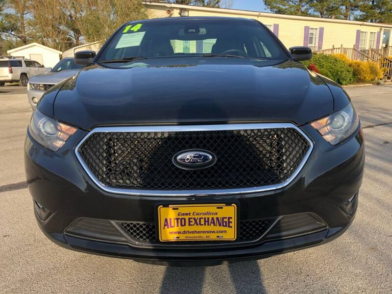 2014 Ford Taurus for sale at East Carolina Auto Exchange in Greenville NC
