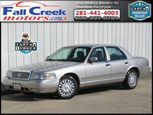 2008 Mercury Grand Marquis for sale at Fall Creek Motor Cars in Humble TX
