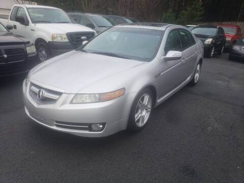 2008 Acura TL for sale at Credit Cars LLC in Lawrenceville GA