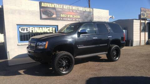 2007 Chevrolet Tahoe for sale at Advantage Auto Motorsports in Phoenix AZ