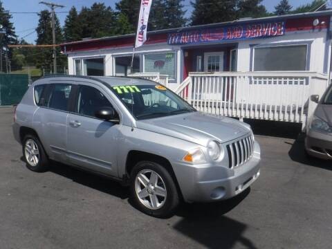 2010 Jeep Compass for sale at 777 Auto Sales and Service in Tacoma WA