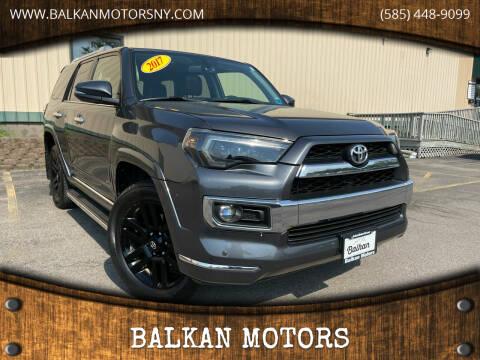 2017 Toyota 4Runner for sale at BALKAN MOTORS in East Rochester NY