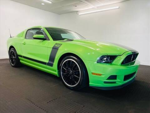 2013 Ford Mustang for sale at Champagne Motor Car Company in Willimantic CT