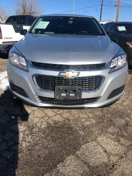 2014 Chevrolet Malibu for sale at Martinez Cars, Inc. in Lakewood CO