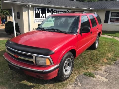 1996 Chevrolet Blazer for sale at Mama's Motors in Greer SC