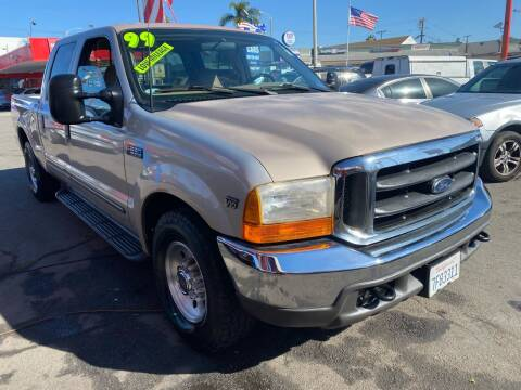 1999 Ford F-250 Super Duty for sale at North County Auto in Oceanside CA