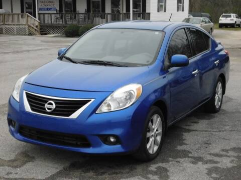 2014 Nissan Versa for sale at Advance Auto Sales in Florence AL