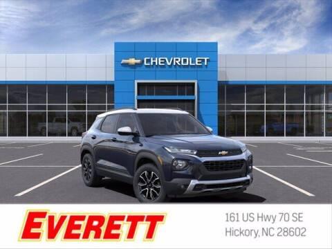 2021 Chevrolet TrailBlazer for sale at Everett Chevrolet Buick GMC in Hickory NC
