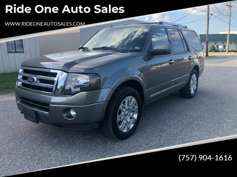 2011 Ford Expedition for sale at Ride One Auto Sales in Norfolk VA