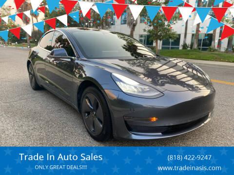 2020 Tesla Model 3 for sale at Trade In Auto Sales in Van Nuys CA