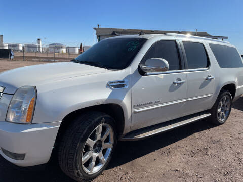2007 Cadillac Escalade ESV for sale at PYRAMID MOTORS - Fountain Lot in Fountain CO