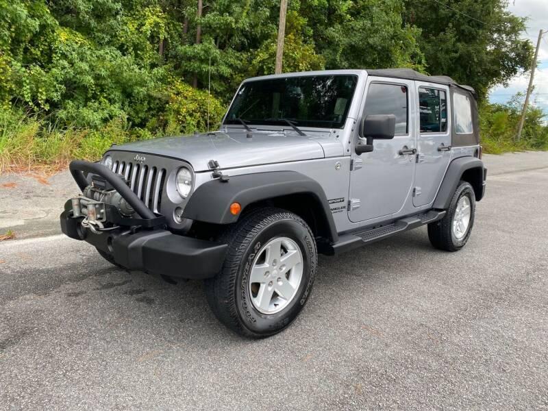 2014 Jeep Wrangler Unlimited for sale at Autoteam of Valdosta in Valdosta GA