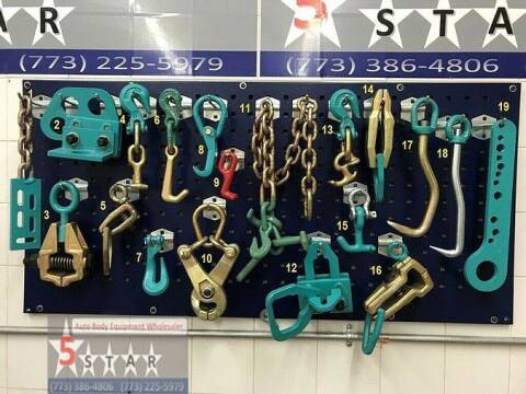 2020 19 PIECE HEAVY DUTY PULLING  CLAMPS TOOLS CHAINS SET for sale at Kamran Auto Exchange Inc in Kenosha WI