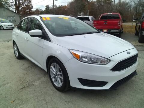 2018 Ford Focus for sale at Import Plus Auto Sales in Norcross GA
