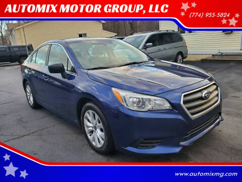 2017 Subaru Legacy for sale at AUTOMIX MOTOR GROUP, LLC in Swansea MA