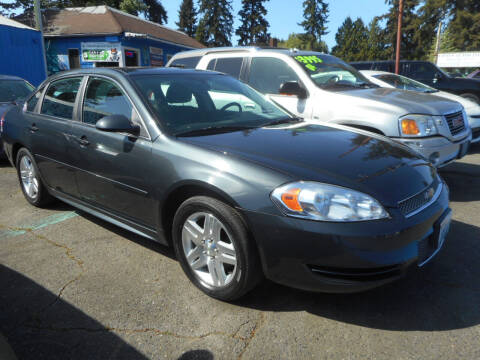 2013 Chevrolet Impala for sale at Lino's Autos Inc in Vancouver WA