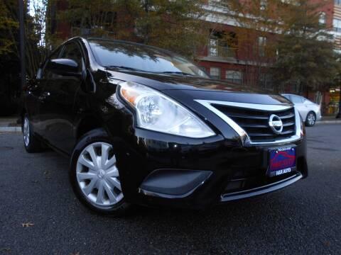 2015 Nissan Versa for sale at H & R Auto in Arlington VA