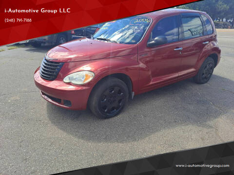 2006 Chrysler PT Cruiser for sale at i-Automotive Group LLC in Waterford MI