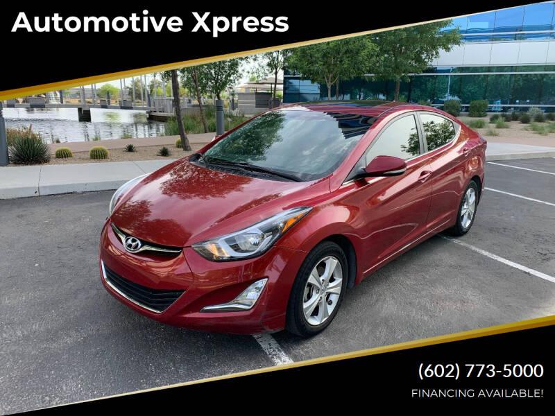 2016 Hyundai Elantra for sale in Tempe, AZ