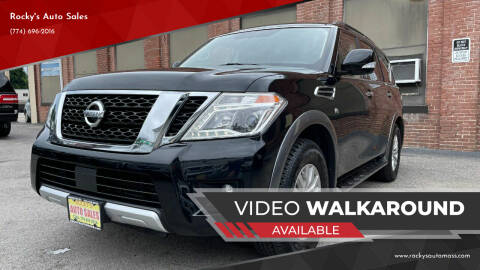 2018 Nissan Armada for sale at Rocky's Auto Sales in Worcester MA