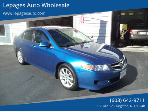 2007 Acura TSX for sale at Lepages Auto Wholesale in Kingston NH