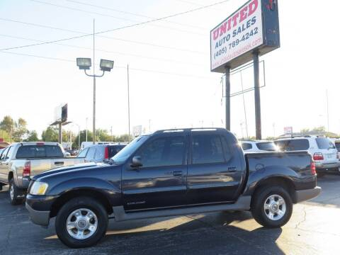 2001 Ford Explorer Sport Trac for sale at United Auto Sales in Oklahoma City OK