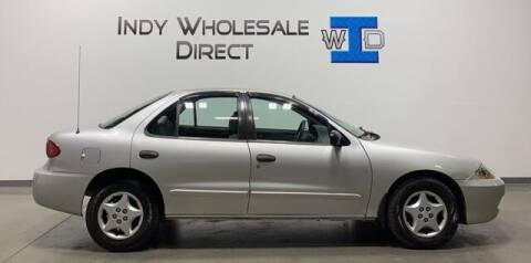 2003 Chevrolet Cavalier for sale at Indy Wholesale Direct in Carmel IN