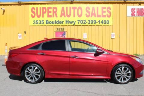 2014 Hyundai Sonata for sale at Super Auto Sales in Las Vegas NV