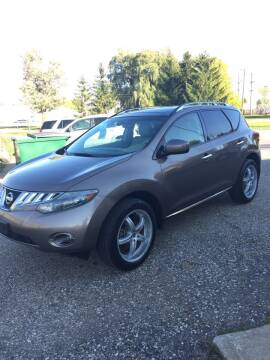 2009 Nissan Murano for sale at Hines Auto Sales in Marlette MI