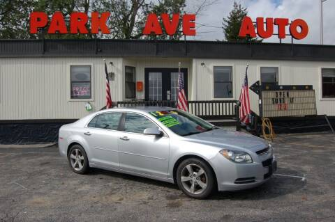 2012 Chevrolet Malibu for sale at Park Ave Auto Inc. in Worcester MA