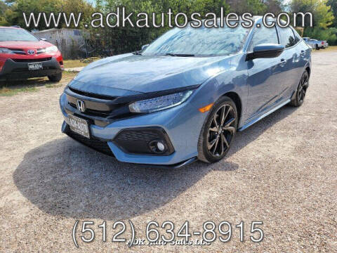 2017 Honda Civic for sale at ADK AUTO SALES LLC in Austin TX