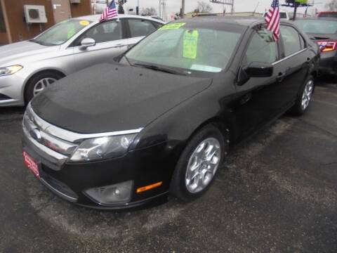 2010 Ford Fusion for sale at Century Auto Sales LLC in Appleton WI