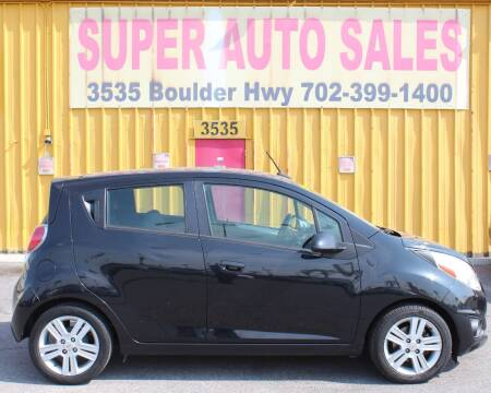 2013 Chevrolet Spark for sale at Super Auto Sales in Las Vegas NV