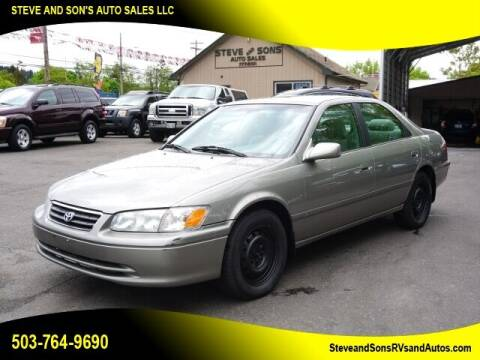 2000 Toyota Camry for sale at Steve & Sons Auto Sales in Happy Valley OR