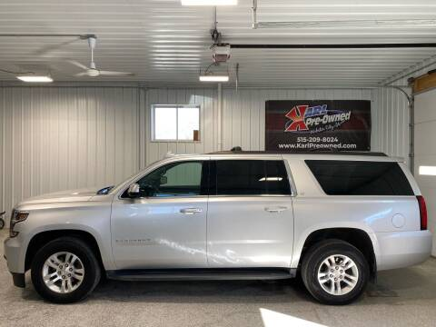 2016 Chevrolet Suburban for sale at Karl Pre-Owned - Webster City in Webster City IA