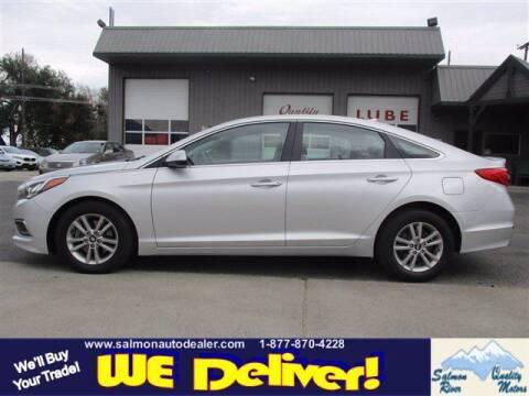 2016 Hyundai Sonata for sale at QUALITY MOTORS in Salmon ID