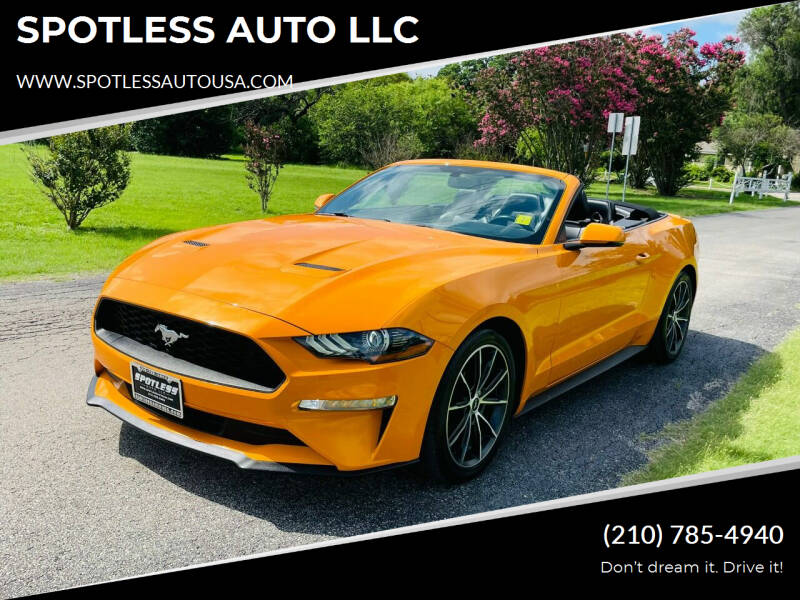2018 Ford Mustang for sale in San Antonio, TX
