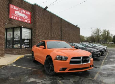 2014 Dodge Charger for sale at Hobart Auto Sales in Hobart IN
