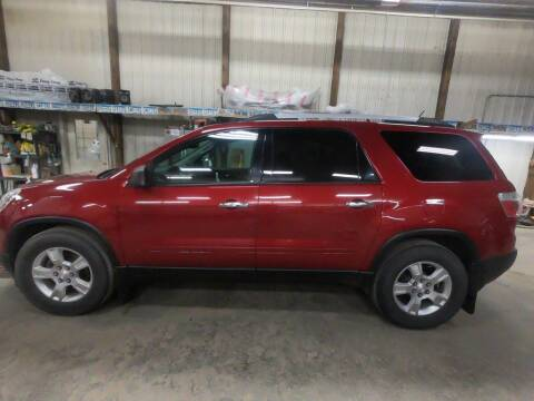 2012 GMC Acadia for sale at Alpha Auto in Toronto SD