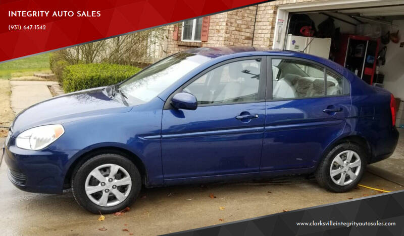 2011 Hyundai Accent for sale at INTEGRITY AUTO SALES in Clarksville TN