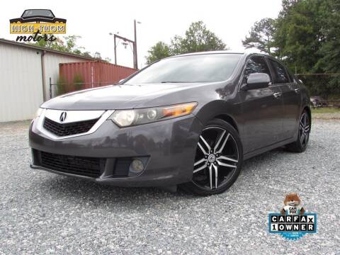 2009 Acura TSX for sale at High-Thom Motors in Thomasville NC
