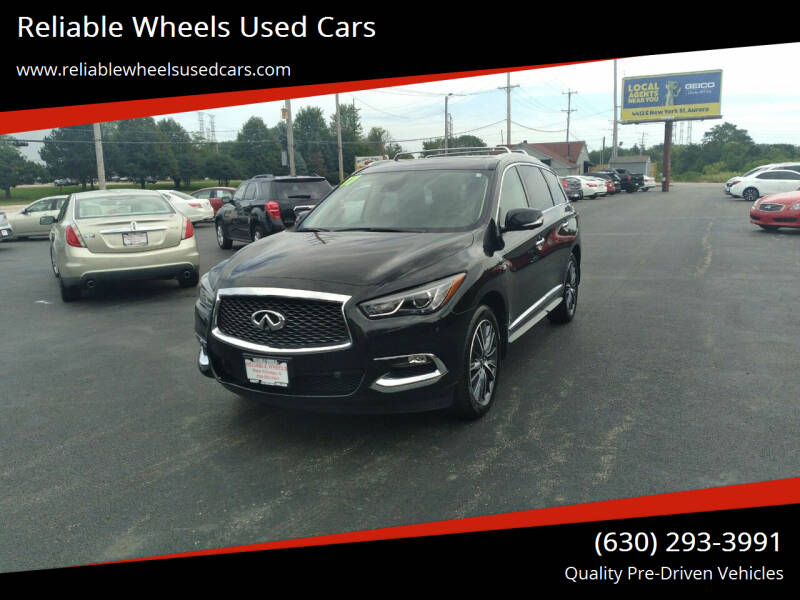 2017 Infiniti QX60 for sale at Reliable Wheels Used Cars in West Chicago IL
