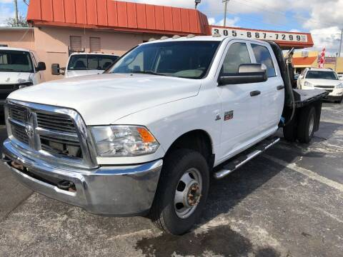 2012 RAM Ram Chassis 3500 for sale at Global Motors in Hialeah FL
