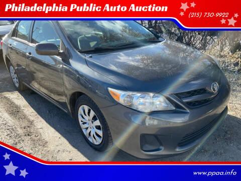 2012 Toyota Corolla for sale at Philadelphia Public Auto Auction in Philadelphia PA